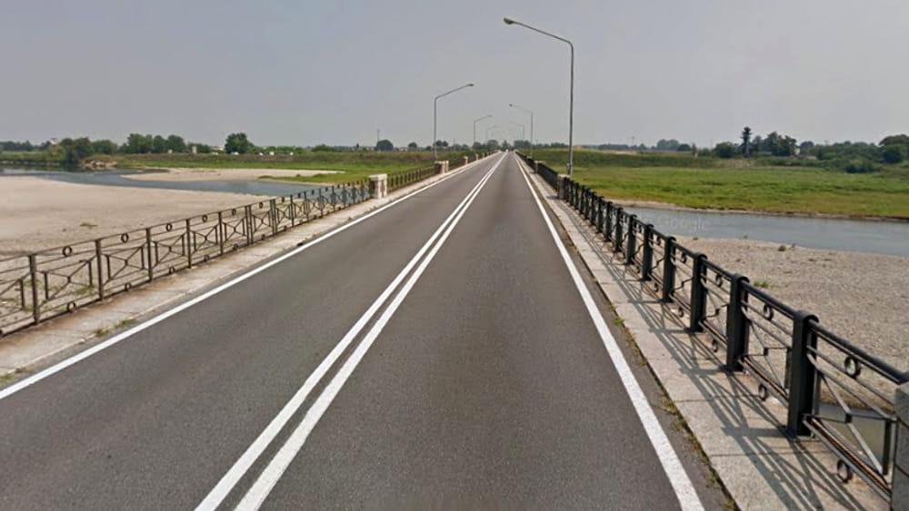 Chiuso il ponte di vercelli per problemi strutturali for Disegni di ponte a 2 livelli