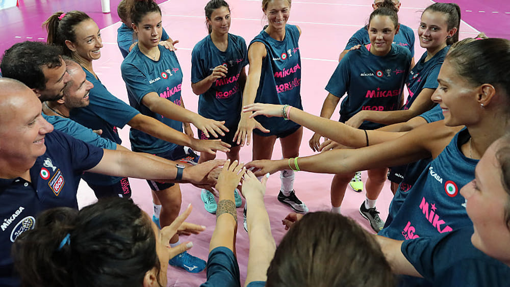 Igor volley in finale al torneo di Mantova
