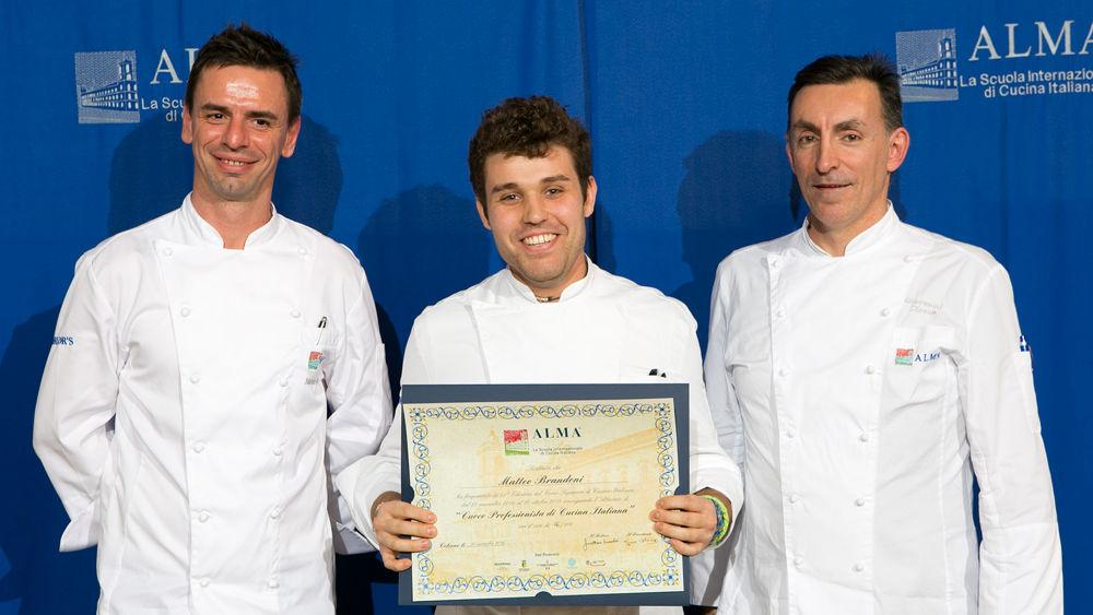 matteo, un giovane cuoco novarese diplomato alla prestigiosa ... - Alma Scuola Di Cucina Prezzi