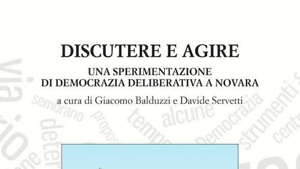 Novara in citt arrivato il momento di discutere e for Discutere it
